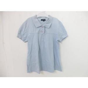 同梱可 バーバリー BURBERRY ポロシャツ 150cm サックス キッズ ジュニア|justy-net