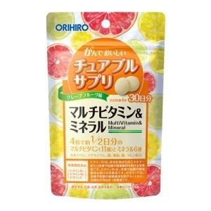 【送料無料】かんでおいしいチュアブルサプリ マルチビタミン&...