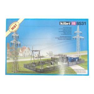 LIEBHERR リープヘル 重機 08531 kibri HOスケール (1:87) プラモデル MINIATURE/ELECTRICITY SUB STATION|juuki