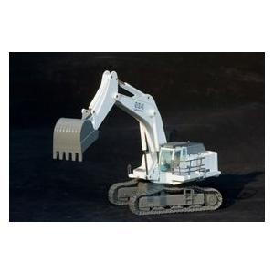LIEBHERR リープヘル 重機 採鉱用 大型ショベル R984C (バックホー/白)|juuki