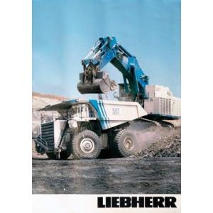 LIEBHERR リープヘル 重機 ポスター T282/R996 A1(594×840mm)|juuki