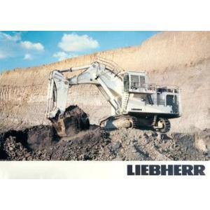 LIEBHERR リープヘル 重機 ポスター R9350 A1(840×594mm)|juuki