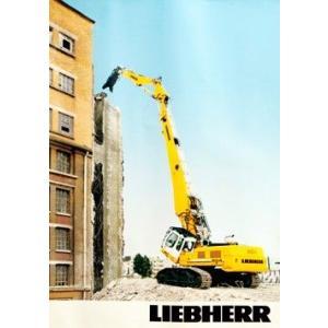 LIEBHERR リープヘル 重機 ポスター R954C Abbruch A1(594×840mm)|juuki