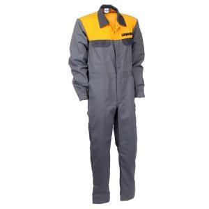 LIEBHERR リープヘル 重機 メカニックスーツ(グレー/黄)|juuki