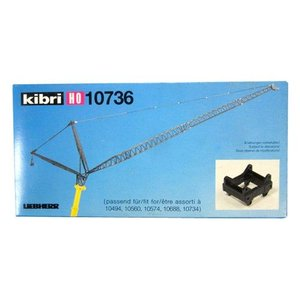 LIEBHERR リープヘル 重機 10736 kibri HOスケール (1:87) プラモデル SCALE MODEL (LUFFING JIB)|juuki