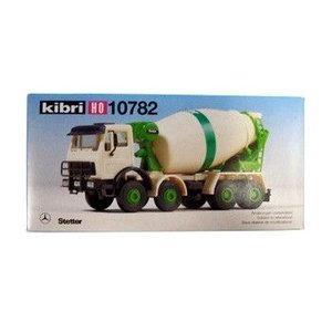 LIEBHERR リープヘル 重機 コンクリートミキサー 10782 kibri HOスケール (1:87) プラモデル CONCRETE MIXER|juuki