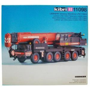 LIEBHERR リープヘル 重機 オールテレーンクレーン LTM1160-2 Van Seumeren 11098 kibri HOスケール (1:87) プラモデル all Terrain Crane|juuki