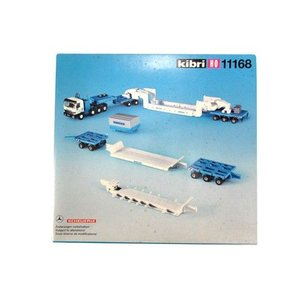 LIEBHERR リープヘル 重機 11168 kibri HOスケール (1:87) プラモデル PLASTIC MODEL (MB ACTROS TRAILER)|juuki