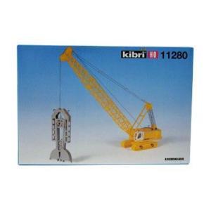 LIEBHERR リープヘル 重機 HS883HD+トランチングデバイス 11280 kibri HOスケール (1:87) プラモデル|juuki