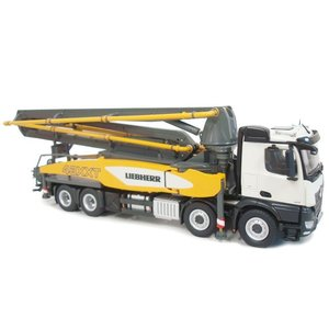 LIEBHERR リープヘル 重機 ポンプ車 Liebherr truck-mounted concrete pump model 43 R4 XXT MB|juuki