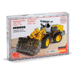LIEBHERR リープヘル 重機 Tronico Metal kit wheel loader 1409pcs. 1:25|juuki