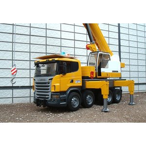 LIEBHERR リープヘル 重機 トーイクレーン(LTF-SCANIA)Mobile crane on Scania R-series 1:16|juuki