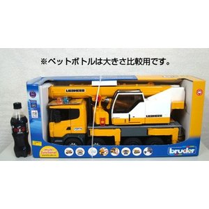 LIEBHERR リープヘル 重機 トーイクレーン(LTF-SCANIA)Mobile crane on Scania R-series 1:16|juuki|06