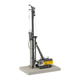 LIEBHERR リープヘル 重機 くい打ち機 LRB255 Litronic piling & drilling rig set|juuki