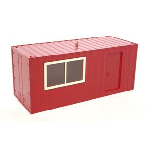 LIEBHERR リープヘル 重機 ミニチュア CONTAINER HOUSE/RED コンテナハウス 赤 juuki