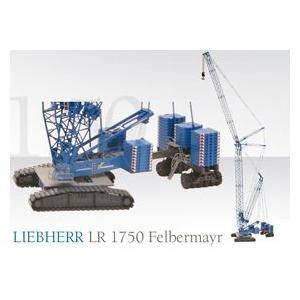 LIEBHERR リープヘル 重機 クローラークレーン LR1750 Felbermayr 限定スペシャルカラー|juuki