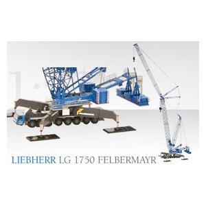 LIEBHERR リープヘル 重機 ラチスマストクレーン LG1750 Felbermayr 限定スペシャルカラー|juuki