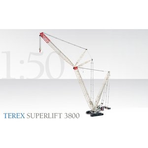 重機 Terex SuperLift 3800 標準色|juuki