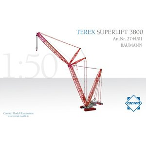 重機 Terex SuperLift 3800 Baumann|juuki