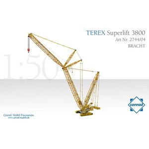 重機 Terex SuperLift 3800 Bracht|juuki