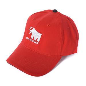 マムート ベーシックキャップ 赤 Mammoet basic cap (red)|juuki