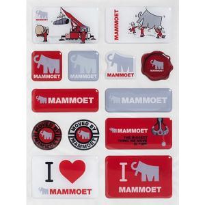MAMMOET マムート ステッカーセット Mammoet sticker set|juuki