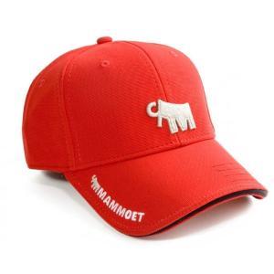 マムート 帽子 3D 赤 Mammoet 3D cap (red)|juuki
