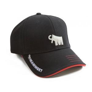 マムート 帽子 3D 黒 Mammoet 3D cap (black)|juuki