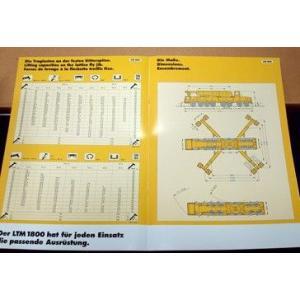 LIEBHERR リープヘル 重機 クレーン LTM1800 standard YC770|juuki|06