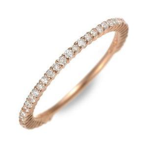 ピンクゴールド リング 指輪 ダイヤモンド 彼女 記念日 ギフト 妻 おしゃれ かわいい Ache 誕生日 送料無料|jwell
