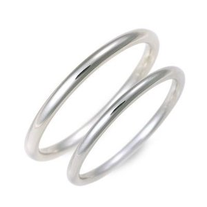 ホワイトゴールド マリッジリング 結婚指輪 ペアリング 名入れ 刻印 ペア プレゼント ジェイオリジナル 送料無料|jwell