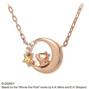Disney シルバー ネックレス 彼女 記念日 ザキッス ザキス ザ・キッス ディズニー プーさん 誕生日 送料無料|jwell
