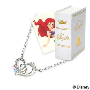Disney シルバー ネックレス ハート 彼女 記念日 ザキッス ザキス ザ・キッス ディズニー アリエル プリンセス 誕生日 送料無料|jwell
