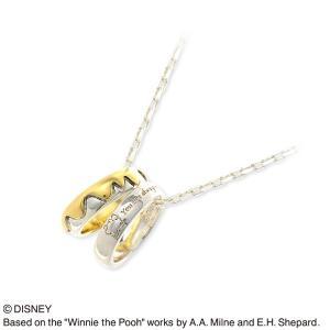 送料無料 Disney シルバー ネックレス 彼氏 記念日 ザキッス ザキス ザ・キッス ディズニー disney_y プーさん 誕生日 jwell