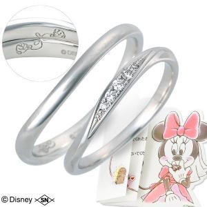 プラチナ ペアリング マリッジリング 結婚指輪 ダイヤモンド 名入れ 刻印 ペア 誕生日プレゼント ディズニー disney_y 送料無料|jwell