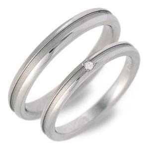 ペアリング チタン プレゼント 結婚指輪 マリッジリング 一粒 ソリティア ダイヤモンド 誕生日プレゼント 記念日 ギフトラッピング 送料無料 送料無料|jwell