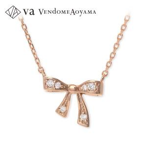 ピンクゴールド ネックレス ダイヤモンド 彼女 記念日 ギフトラッピング ヴイエーヴァンドームアオヤマ 誕生日 送料無料 レディース|jwell