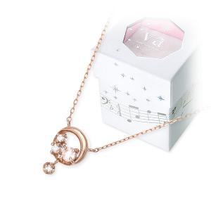 ピンクゴールド ネックレス 当店オリジナル 彼女 誕生日プレゼント  ヴイエーヴァンドームアオヤマ  送料無料 ホワイトデー お返し jwell