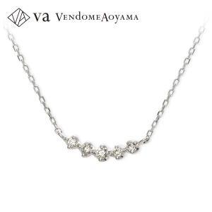 ホワイトゴールド ネックレス ダイヤモンド 彼女 記念日 ギフトラッピング ヴイエーヴァンドームアオヤマ 誕生日 送料無料 レディース jwell