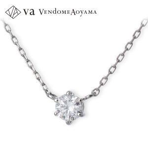 送料無料 プラチナ ネックレス ダイヤモンド 彼女 プレゼント ヴイエーヴァンドームアオヤマ|jwell