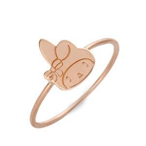 シルバー リング 指輪 彼女 記念日 ギフトラッピング マイメロディ 誕生日 レディース|jwell