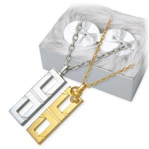 シルバー ペアネックレス ダイヤモンド 20代 30代 ペア 誕生日プレゼント 記念日 ギフトラッピング マーズ 送料無料|jwell