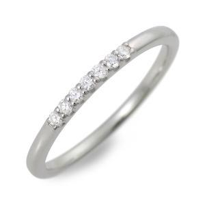 ホワイトゴールド リング 指輪 ダイヤモンド 彼女 記念日 ギフトラッピング ウィスプ 誕生日 送料無料 レディース jwell