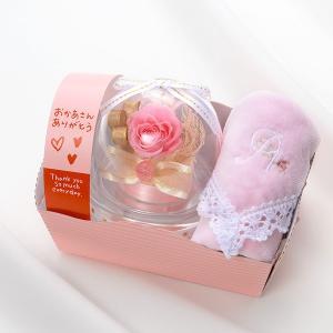 花 プレゼント プリザーブドフラワー お祝い おしゃれ ハンカチ付 ボックス 宅配|jwell