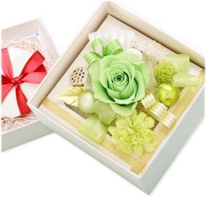 プリザーブドフラワー ボックス 花束 花材 アレンジメント 一輪 退職 お祝い 結婚|jwell