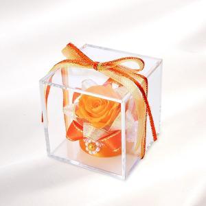 花 プレゼント プリザーブドフラワー ボックス お祝い おしゃれ カード付|jwell