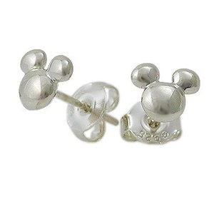 Disney シルバー ピアス 彼女 記念日 ディズニーアクセサリー ディズニー ミッキーマウス 誕生日|jwell