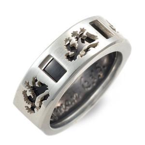 シルバー リング 指輪 彼氏 記念日 ギフトラッピング ウルフマン 誕生日 送料無料 メンズ|jwell