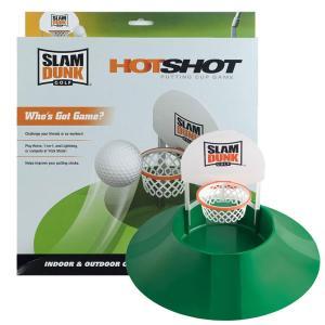 スラムダンクゴルフ ホットショット パッティングゲーム 練習器具 室内でトレーニング (USモデル)...
