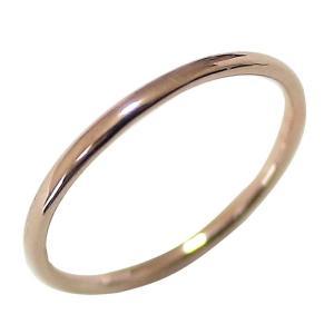 ピンキーリング ピンクゴールドK10 丸線 地金 指輪 jwl-i